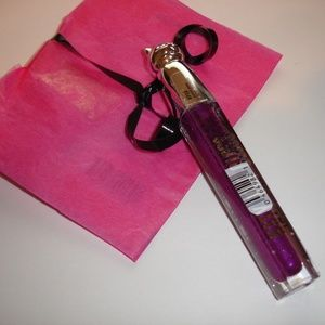 Katy Perry Lipgloss purple paws and gift NIP